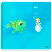 One Kings Lane - A Child's Gallery - Fish II Print