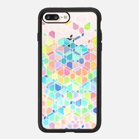 iPhone 7 Plus Case, Rainbow Cubes and Diamonds on Transparent  by Micklyn Le Feuvre | Casetify (iPhone 6s 6 Plus SE 5s 5c & more)