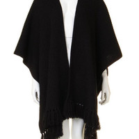 Shawl Wrap in Black