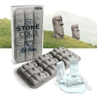 Fred & Friends STONE COLD Easter Island Ice Tray