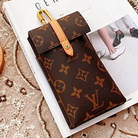 LV Louis Vuitton New Women Men Mobile Phone Package Handbag Tote Bag