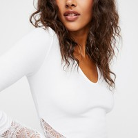 Free People Thinking Out Loud Crop