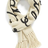 Women's Wildfox 'Hangover' Scarf - Ivory (Online Only)