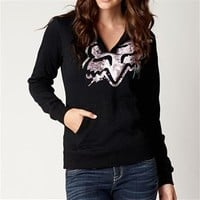 Fox Racing Sparks Pullover Hoody for Women 13487-001