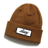 Patch Cuff Beanie Copper