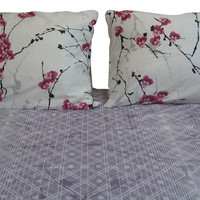 DaDa Bedding Floral Cotton Sheet Set Twin 2 Pieces