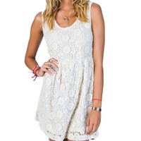 Billabong Women's Bellz Dress White Cap