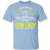 Sexy Cow Lady T-Shirt