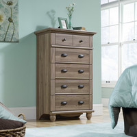 Walmart: Sauder Harbor View 5-Drawer Dresser, Salt Oak