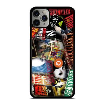 BROADWAY MUSICAL COLLAGE iPhone Case Cover