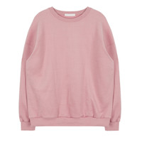 Basic Colored Pullover Sweater   MIXXMIX