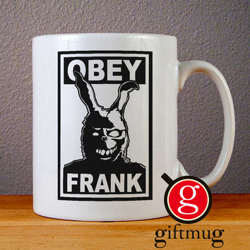 Obey Frank Ceramic Coffee Mugs