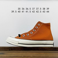 Kuyou Fa19630  Converse All Star 1970s Black Label High Top Canvas Shoes