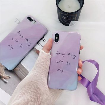 Every thing will be okay Phone Case