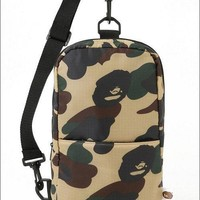 Camouflage Stylish Backpack Messenger Bags Tote Bag [211448233996]