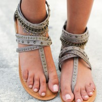 Wilma Taupe Sandals