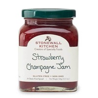 Stonewall Kitchen Strawberry Champagne Jam, 11.5 oz (326g)