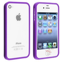 Generic Carrying Case for iPhone 4/4S - Non-Retail Packaging - Purple