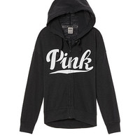 Slouchy Full-Zip Hoodie - Victoria's Secret