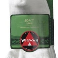 Wigwam Women's Sof-T Low Cut Socks, 3-Pack