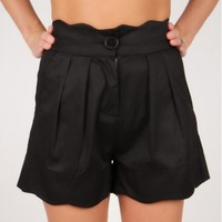 High Waist Shorts Black