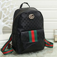 GG Canvas Mens and Womens Fashion Backpack Shoulder Bag-7