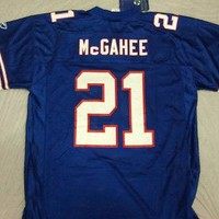 MCGAHEE #21 BUFFALO BILLS RETRO REPLICA REEBOK JERSEY