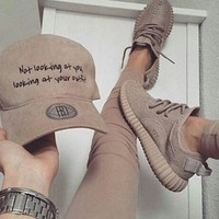PEAP4 'Adidas' Women Yeezy Boost Sneakers Running Sports Shoes