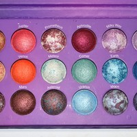 Galaxy Chic Eyeshadow Palette from BH Cosmetics- SPACE THEMED SHADOWS!