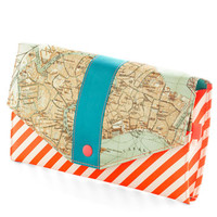 ModCloth Travel Here and Canal Travel Wallet