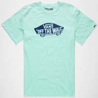 Vans Otw Mens T-Shirt Mint  In Sizes