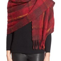 MARC BY MARC JACOBS Plaid Blanket Scarf | Nordstrom