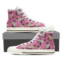 Siamese Cat Pattern Shoes