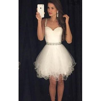 Short Prom Dress, Homecoming Dresses, Graduation School Party Gown, Winter Formal Dress, DT0248