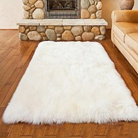 White Plush Carpet  Bedroom Livingroom Carpet Children Crawing Rug Fluffy Soft  Home Decor Colorful Living Room Floor Rugs
