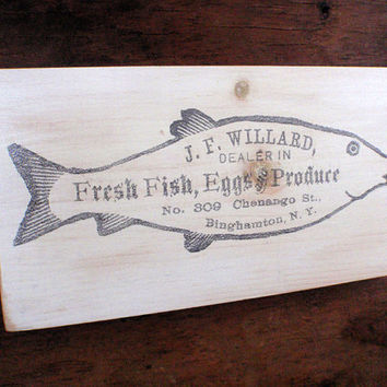 Rustic kitchen sign-Shabby chic kitchen sign-Rustic kitchen wall decor-Farmhouse sign-Country kitchen wall decor-Vintage fish sign