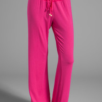 Juicy Couture Sleep Essential Pant in Lychee from REVOLVEclothing.com