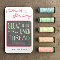 Glow–in–the–Dark Thread