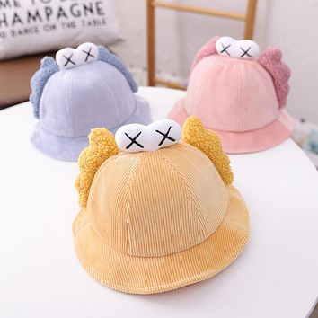 Baby Fisherman Hat Baby Autumn And Winter Breathable Personality Cute Boy Autumn Super Cute Toddler Cartoon Girl Version