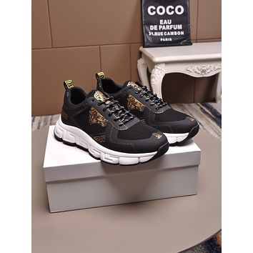 VERSACE  Men's 2020 New Fashion Casual Shoes Sneaker Sport Running Shoes