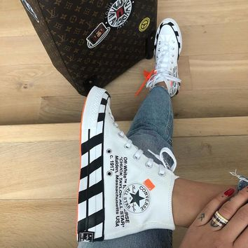 Converse 70s Hi x Off-white Canvas High-top Sneakers