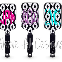 Monogrammed Paddle Hair Brush