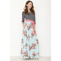 Spring is Calling Maxi Dress - Mint