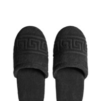 Versace Greca Key Slippers - Home Collection | US Online Store