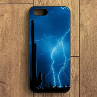 Lightning Cactus iPhone 5S Case
