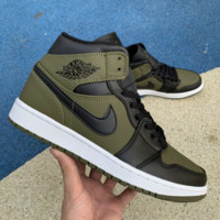 Air Jordan 1 aj1 mid   Running Sports shoes sneaker