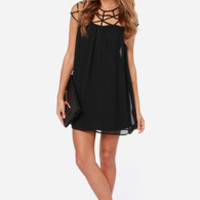 LULUS Exclusive All the Cage Black Dress