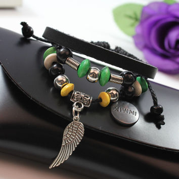 Handmade Angel Wing Tribal Bracelet