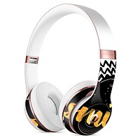 Smile Sketch on Foil Full-Body Skin Kit for the Beats by Dre Solo 3 Wireless Headphones