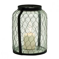 Chicken Wire Lantern